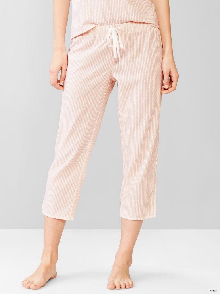 Çizgili kapri pijama altı | GAP