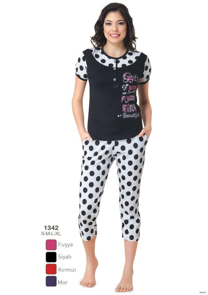 Fapi Pjama Kadın Pijama Takımı