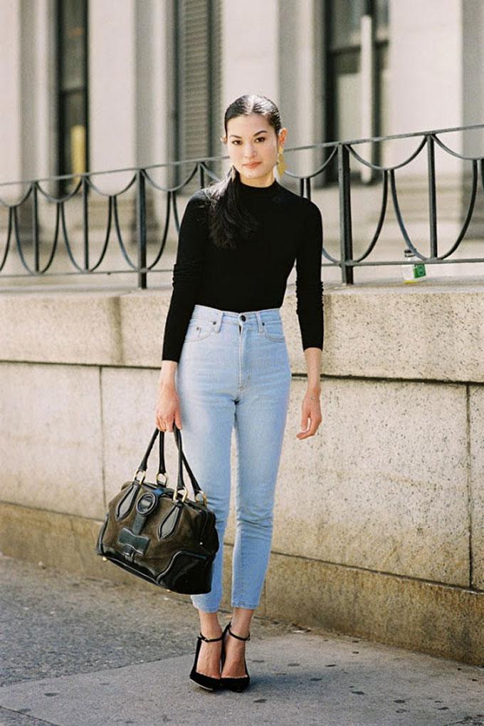high-waisted-jeans - Yüksek Bel Kotlar Tül Etekler Replum Elbise Normcore Tarzı Mode Kıyafetler Midi Etekler kreasyonlar Jogger Pantolonlar Demode Kıyafetler Dar Kotlar Beyaz Tulumlar