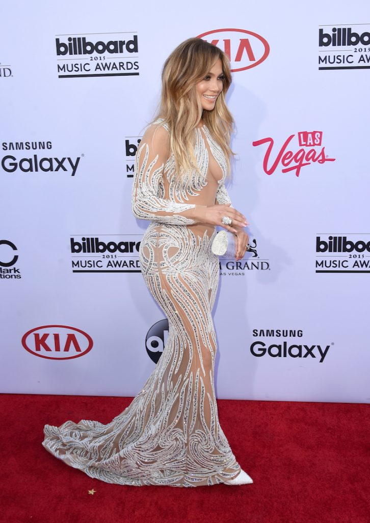 LAS VEGAS, NV - MAY 17:  Musician Jennifer Lopez attends the 2015 Billboard Music Awards at MGM Grand Garden Arena on May 17, 2015 in Las Vegas, Nevada.  (Photo by Jason Merritt/Getty Images)
