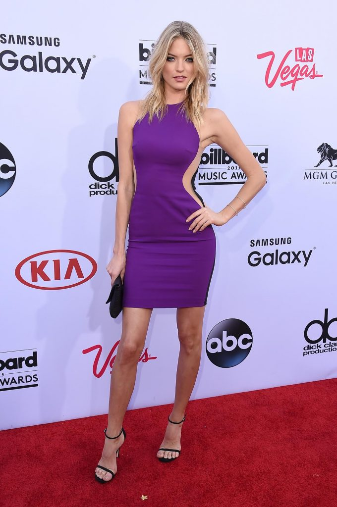 LAS VEGAS, NV - MAY 17:  Model Martha Hunt attends the 2015 Billboard Music Awards at MGM Grand Garden Arena on May 17, 2015 in Las Vegas, Nevada.  (Photo by Steve Granitz/WireImage)