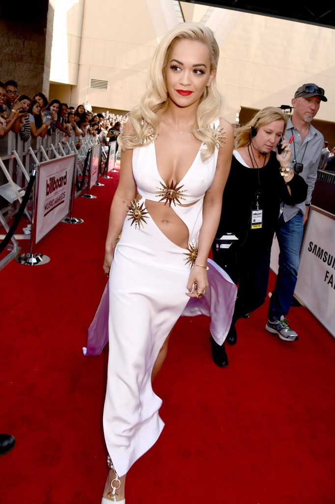 LAS VEGAS, NV - MAY 17:  Singer Rita Ora attends the 2015 Billboard Music Awards at MGM Grand Garden Arena on May 17, 2015 in Las Vegas, Nevada.  (Photo by Jeff Kravitz/BMA2015/FilmMagic)