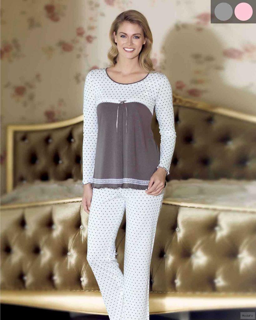 Şahinler Zakkum Puanlı Pijama Takımı