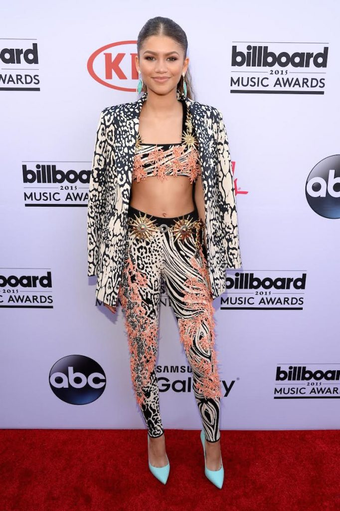 LAS VEGAS, NV - MAY 17:  Actress/recording artist Zendaya attends the 2015 Billboard Music Awards at MGM Grand Garden Arena on May 17, 2015 in Las Vegas, Nevada.  (Photo by Kevin Mazur/BMA2015/WireImage)