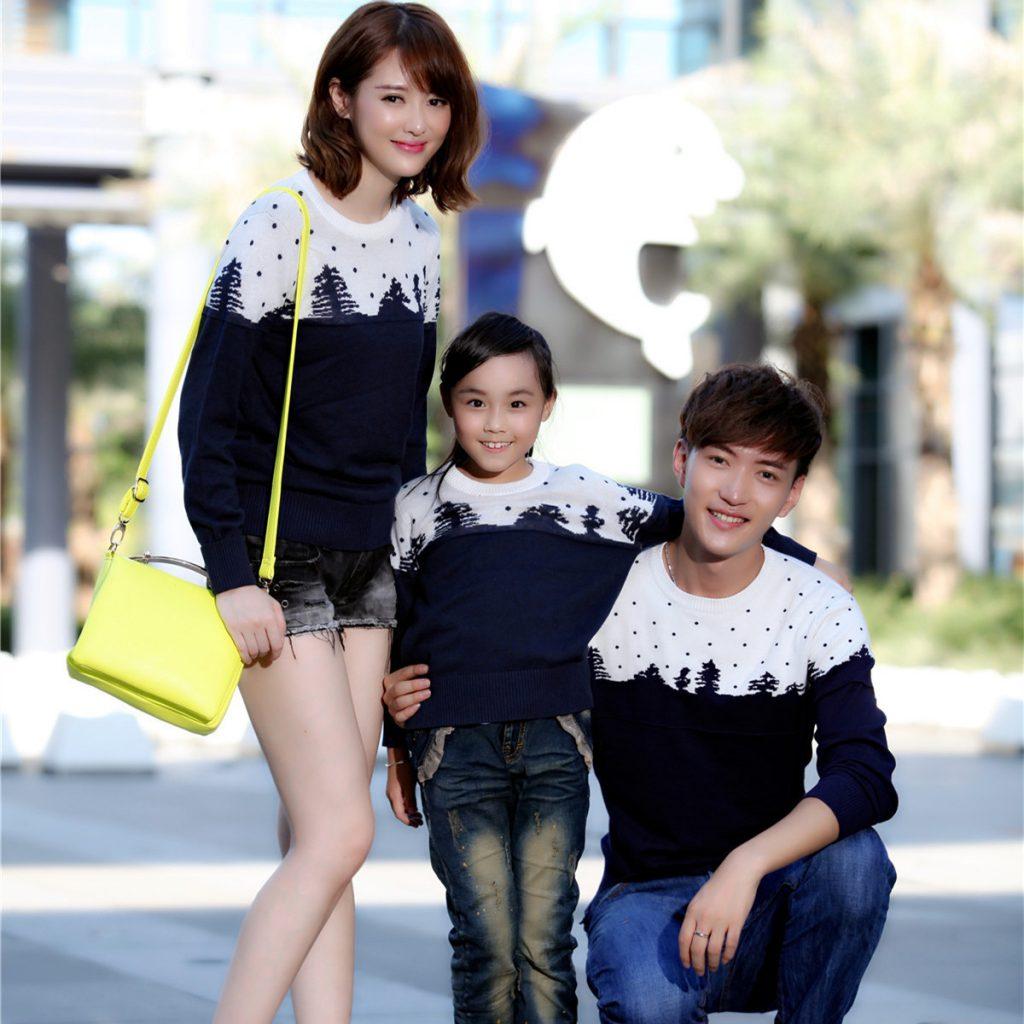 Bir Örnek Bluz ve Aile Kombini