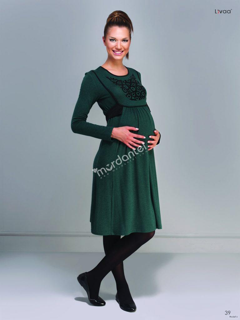 Apoletli Uzun Elbise