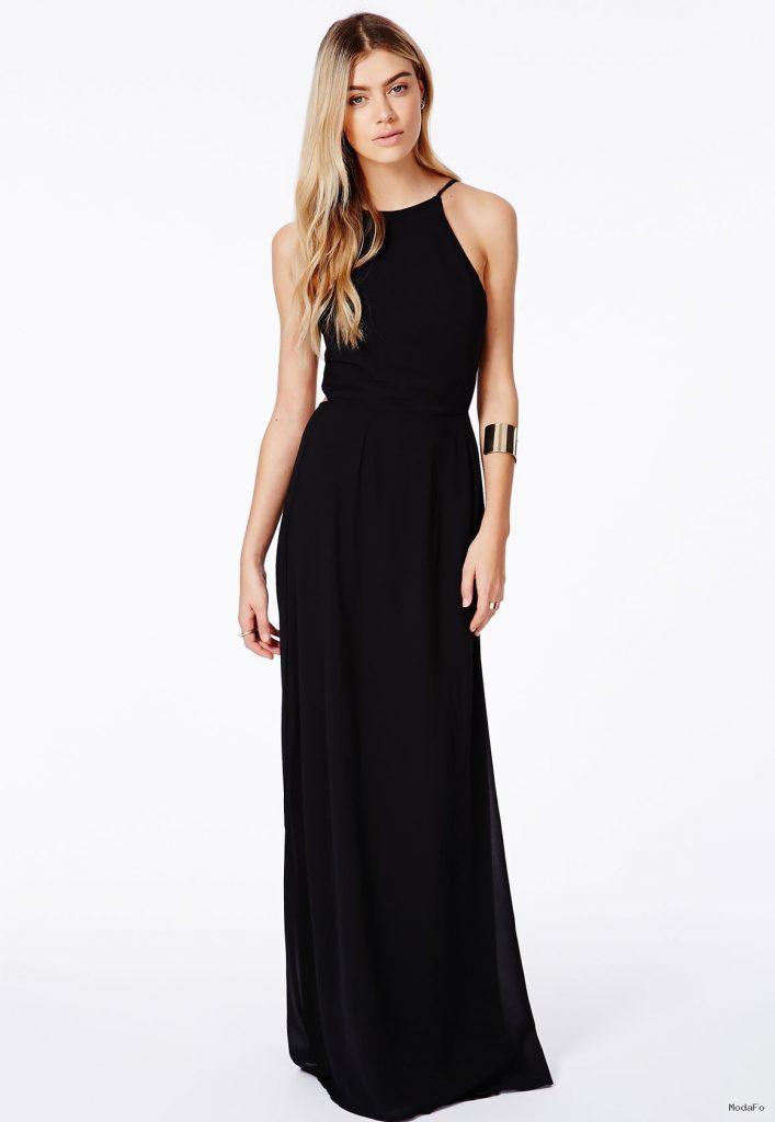 Sade Siyah Elbise