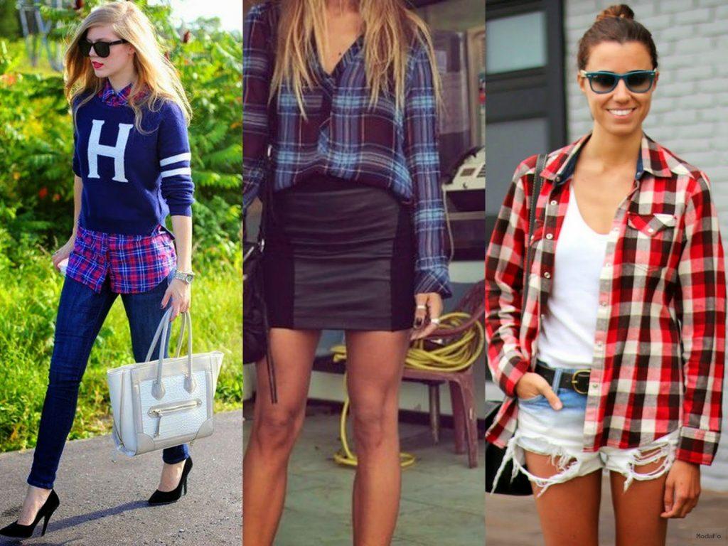 Ekose Gömlekler Nasıl Giyilir?