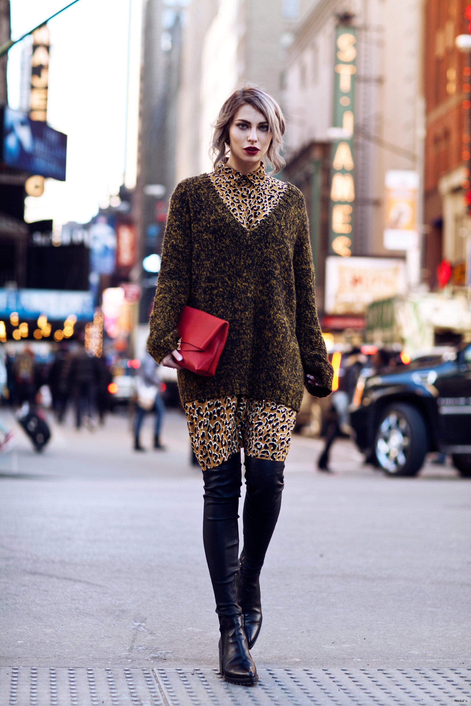 2015-2016 İlkbahar-yaz sokak tarzı moda trendleri 39