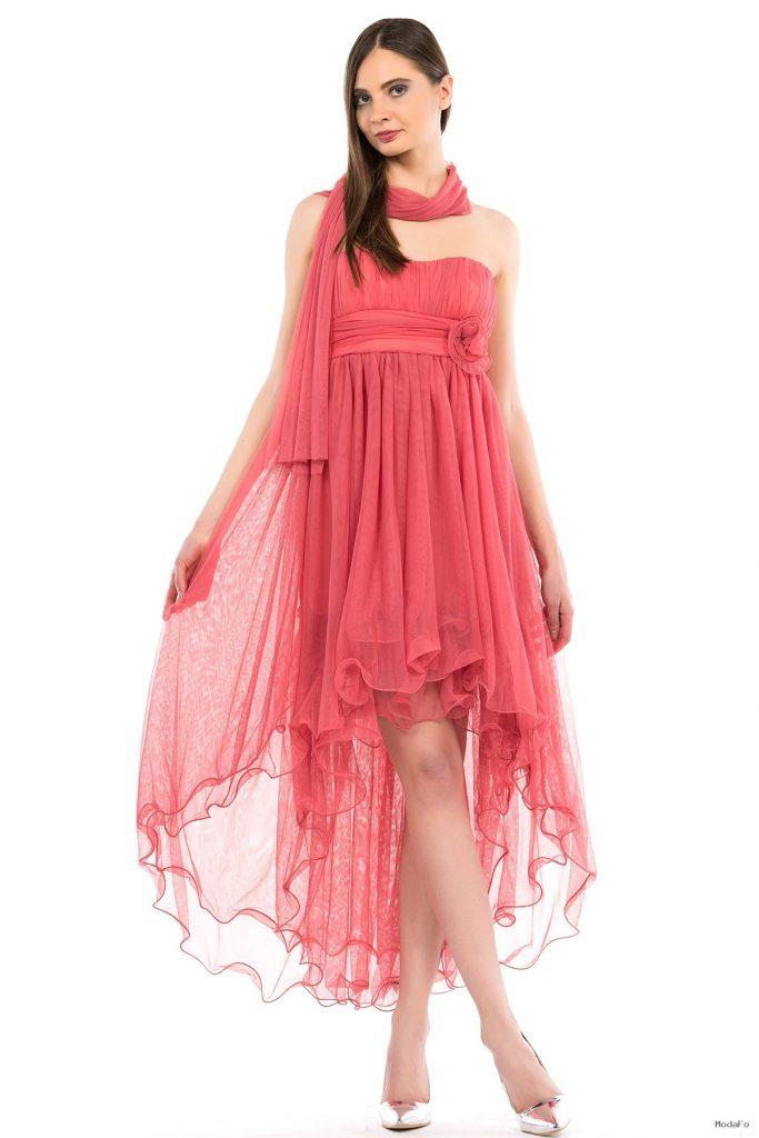 Straplez Elbise Modeli