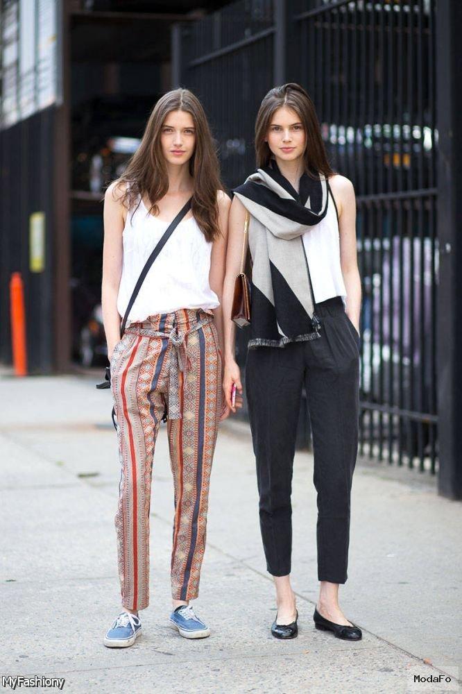 2015-2016 İlkbahar-yaz sokak tarzı moda trendleri 60