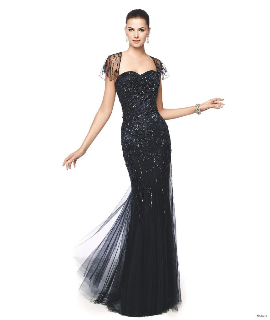 Nişan için abiye elbise modelleri