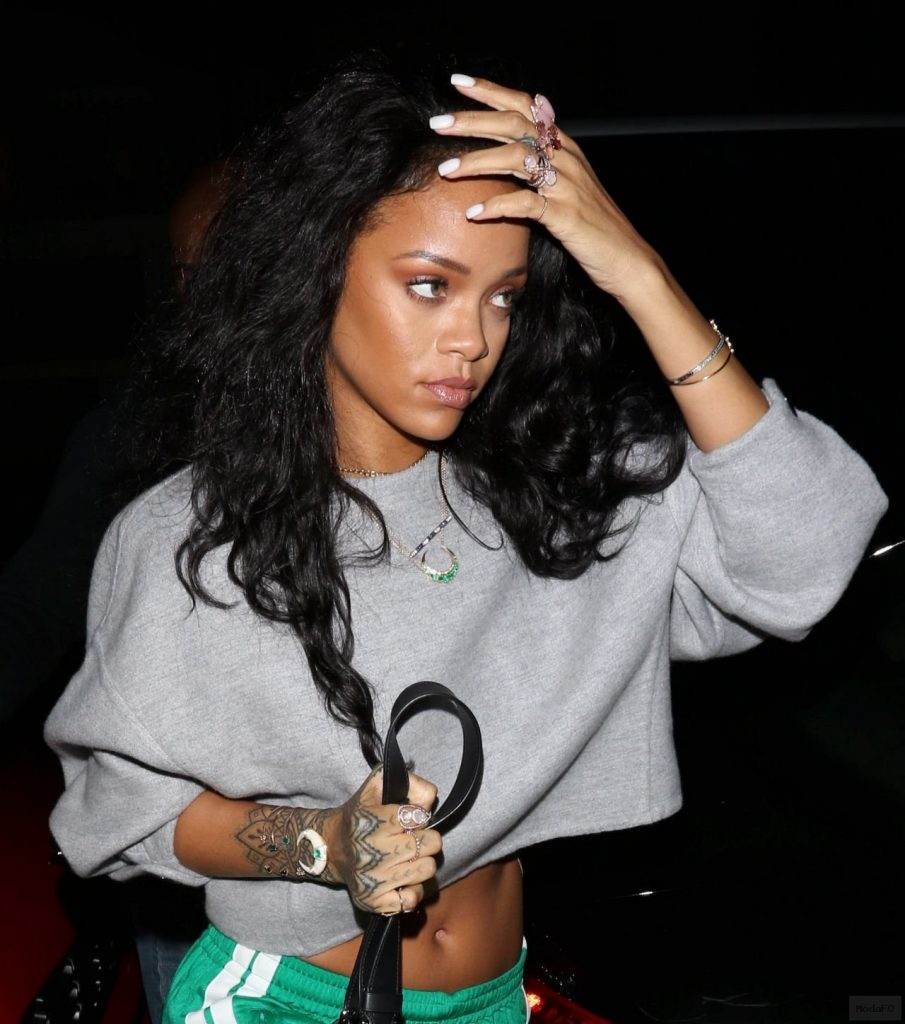 Rihanna Style - Out in Los Angeles, January 2015