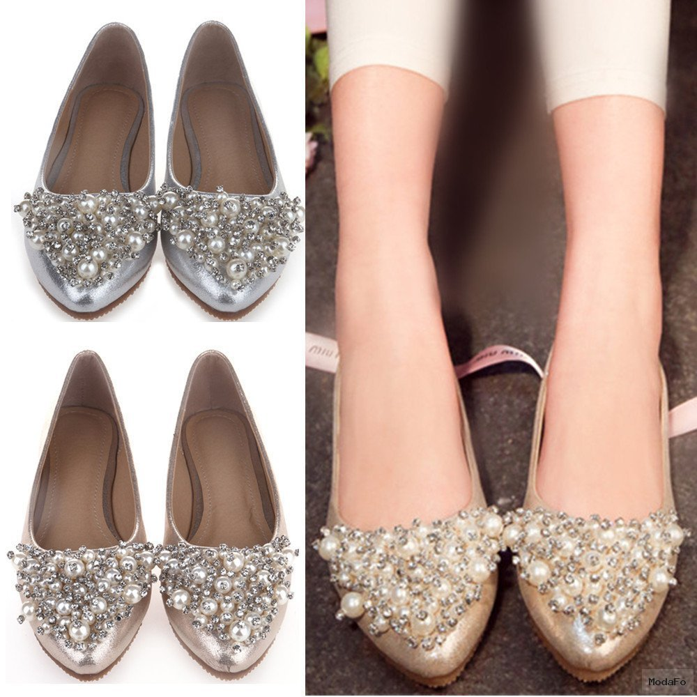 Silver Ballerina Shoes Promotion-Online Shopping for Promotional …