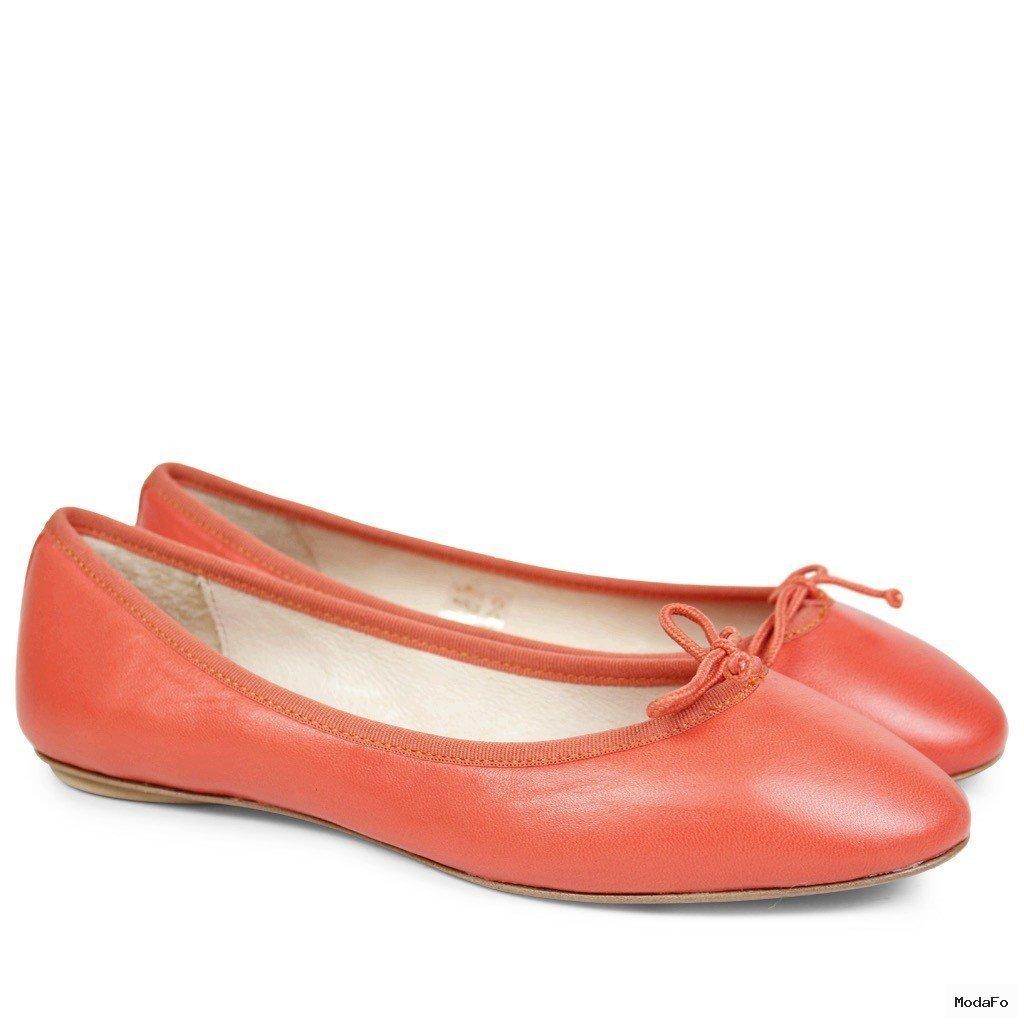 Sonja Nappa Orange LS | Ballet pumps | Women shoes | Melvin