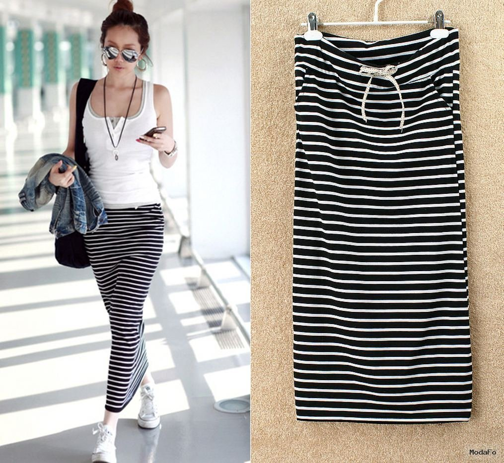 Aliexpress.com : Buy B281 Fashion Summer Women Casual Striped …