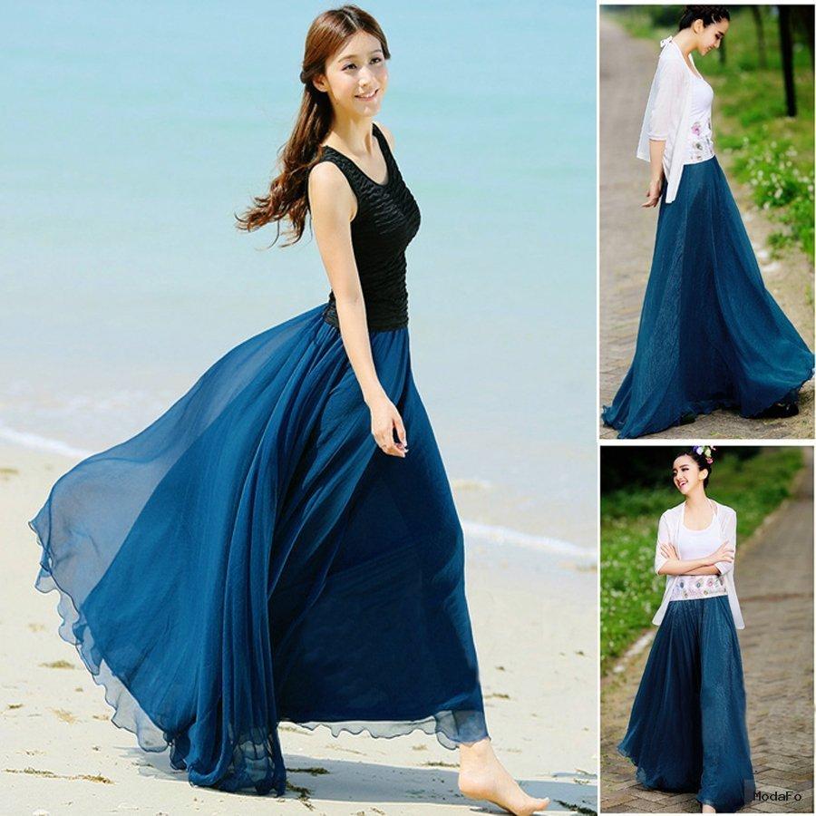 Aliexpress.com : Buy New 2014 Women Summer Long Skirts Desigual …