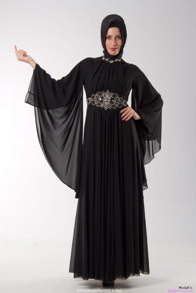 Aramiss 2014 Tesettür Abiye Elbise Modelleri