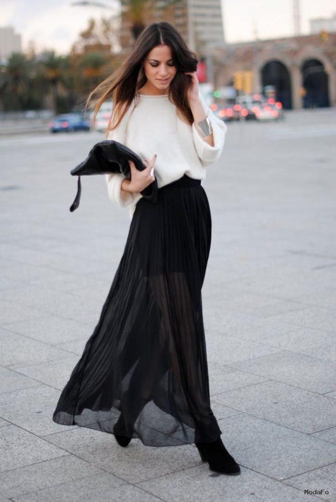 Diy skirts | Slit Skirt, Diy Maxi Skirt and Maxi …