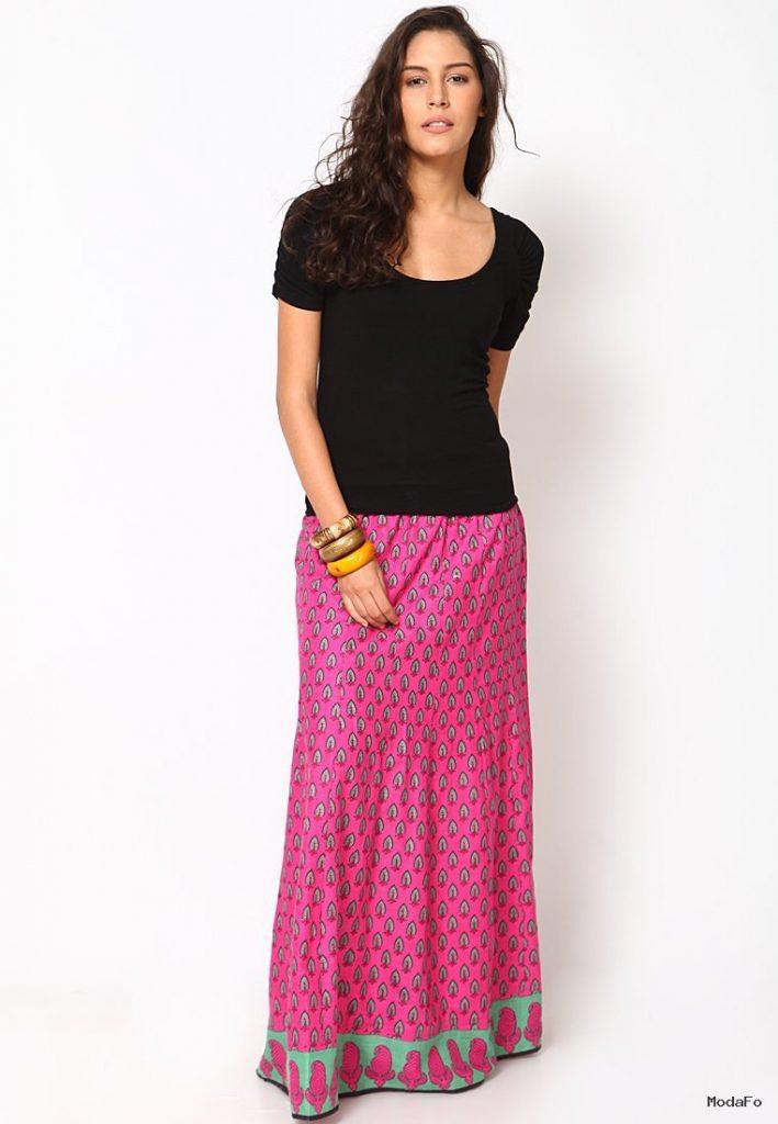 Indian Long Skirt And Top – Dress Image