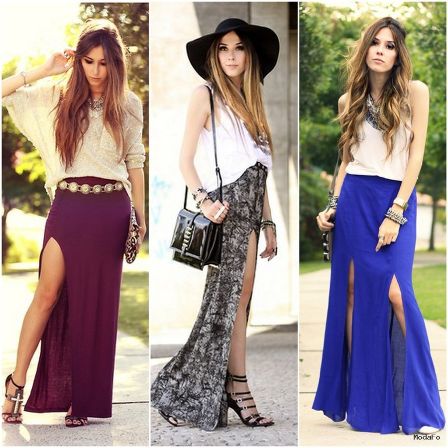 Long Summer Skirts | Trends For Summer | 2015-2016 Fasion Clothing …