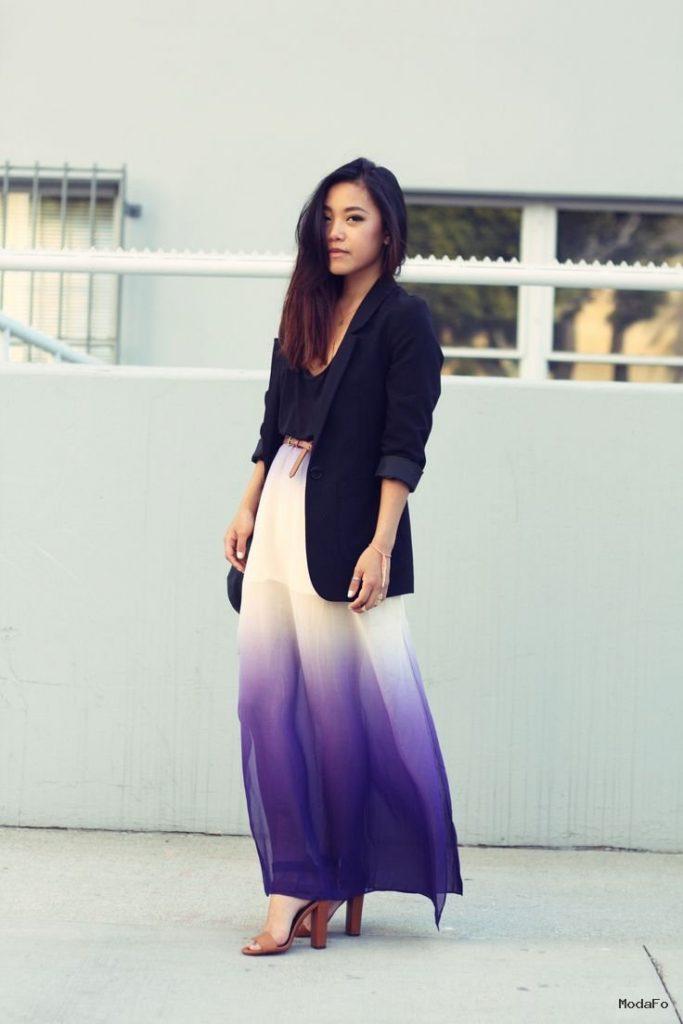 maxi-skirt-trend-street-style (2) | Fashion IV | Pinterest