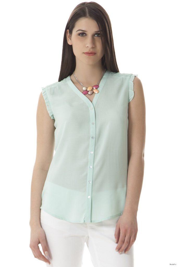Şifon gömlek modelleri 2015