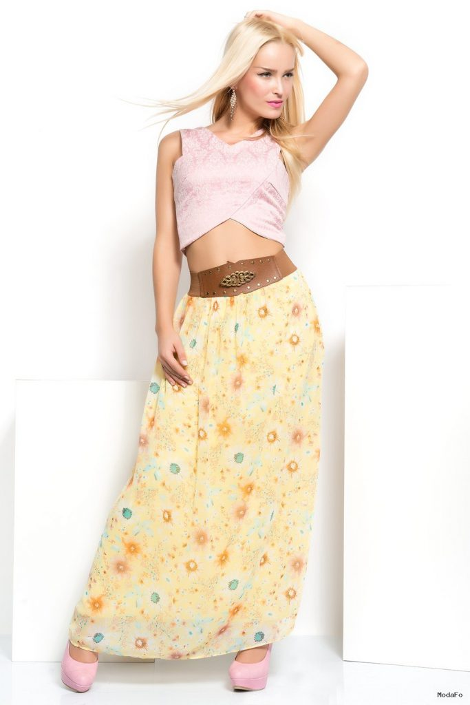 Skirt With Belt Long New Turkish Design Istanbul Fasion Skirts …