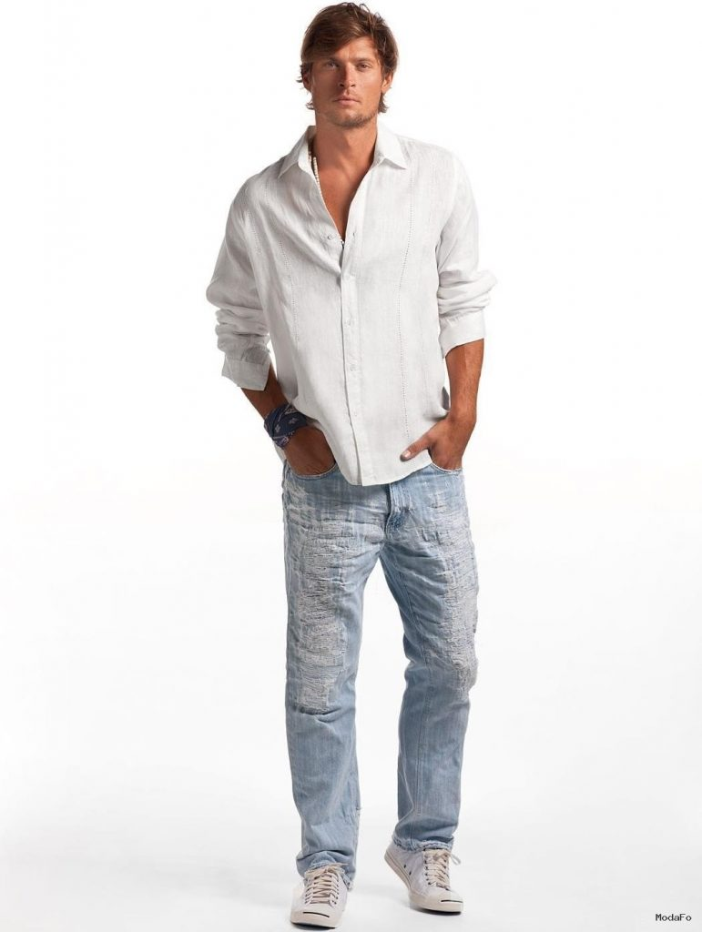 White Rio Linen Shirt – Men's White Linen Shirt | Island Company