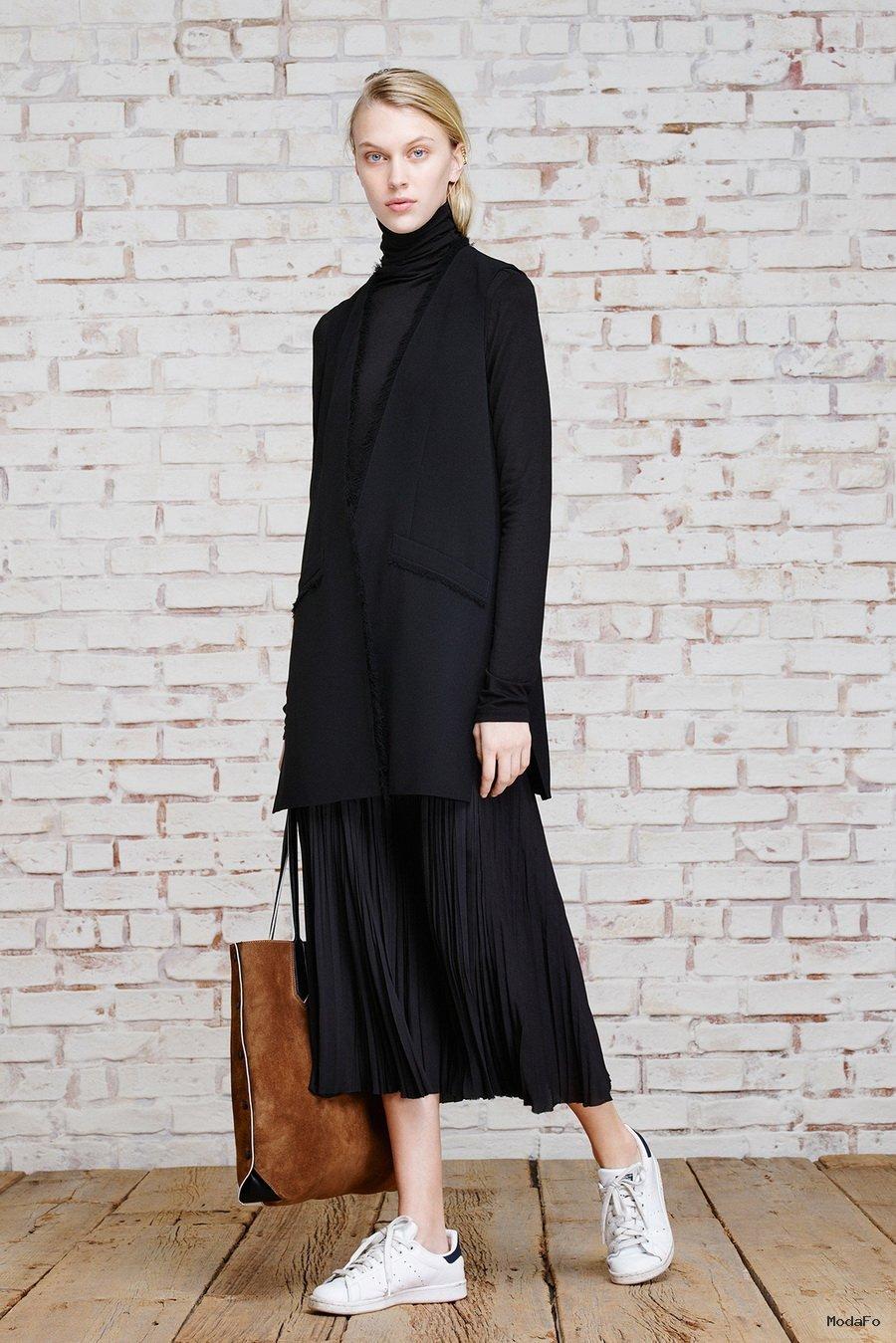 Best-Skirt-Styles-For-Autumn- ... - Uzun hırka modelleri Uzun Hırka Kombinleri Uzun Hırka Modası Uzun Kış Modası Hırka Kombinleri