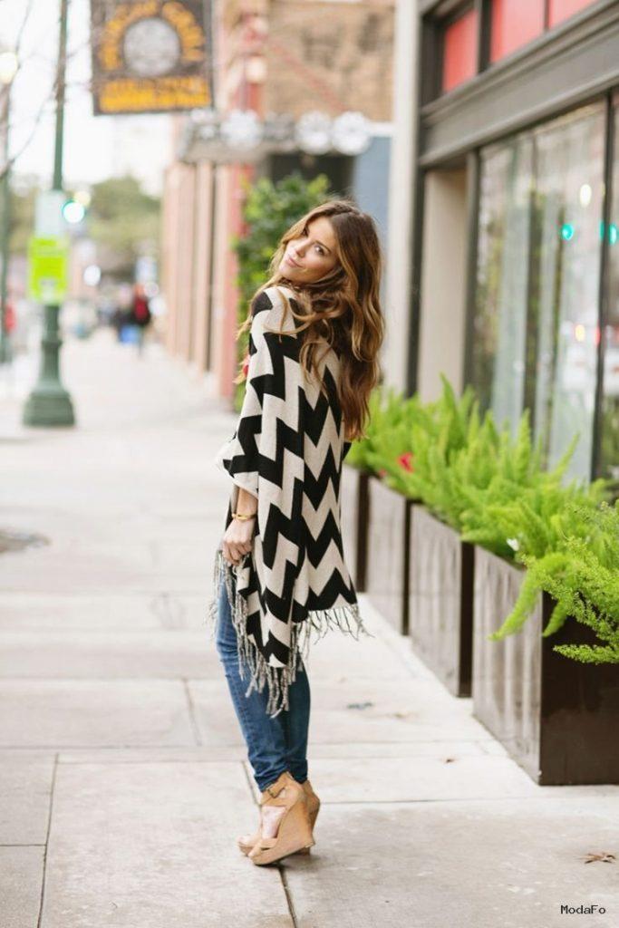 How to Wear a Poncho | Aelida