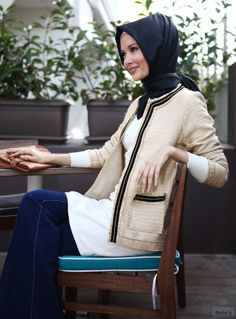 Modern Bayan Ceket Modelleri | Tesettür Modası