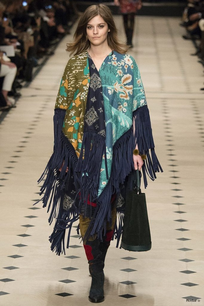 Patchwork, Pattern and Prints by Burberry | 2015 Fashion Trends …