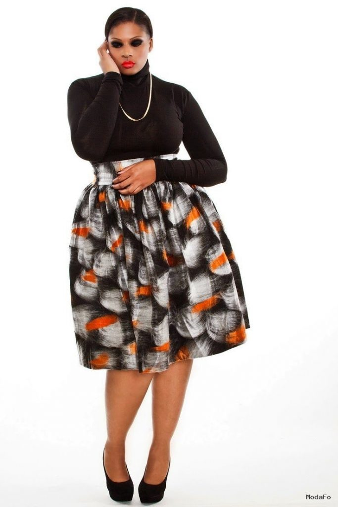 fashion geek: How to dress your High Waist Skirt as a Plus Size Woman