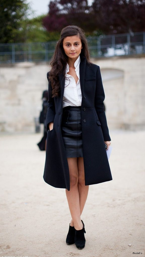 How To Style Black mini LEATHER SKIRTS?   Fashion Tag Blog