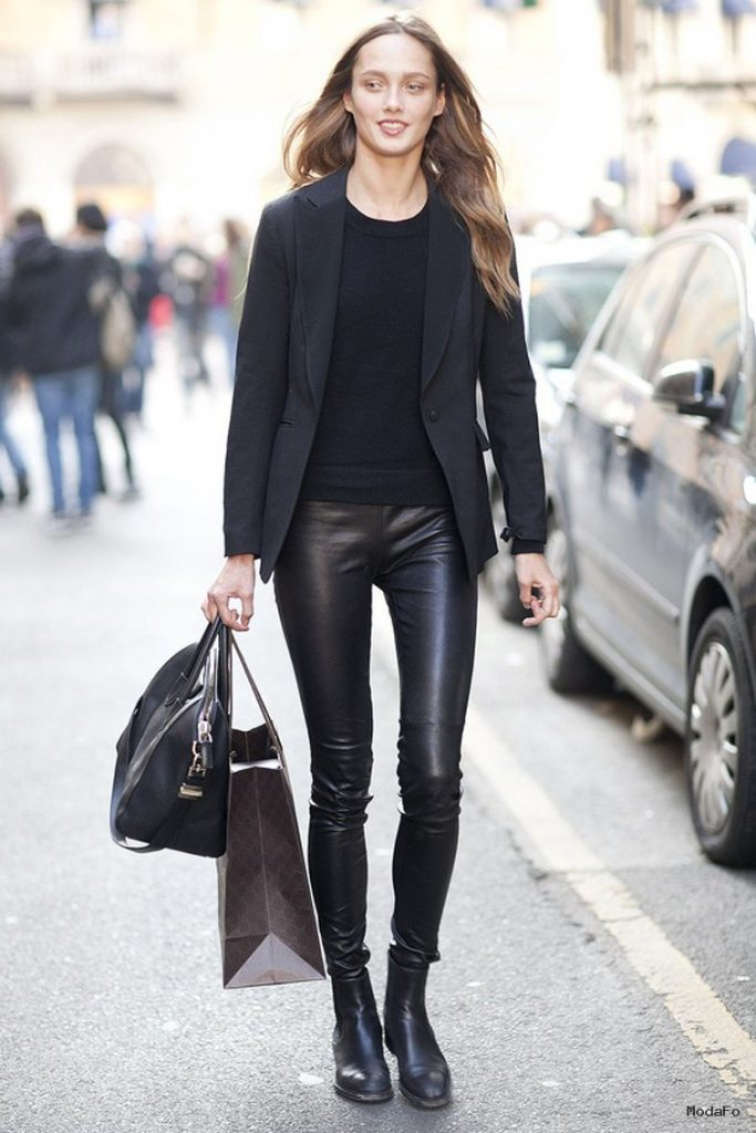 How To Wear LEATHER PANTS Anywhere?   Fashion Tag Blog