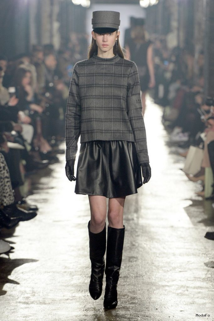 Leather Skirts For Autumn-Winter 2014-2015   WardrobeLooks.com