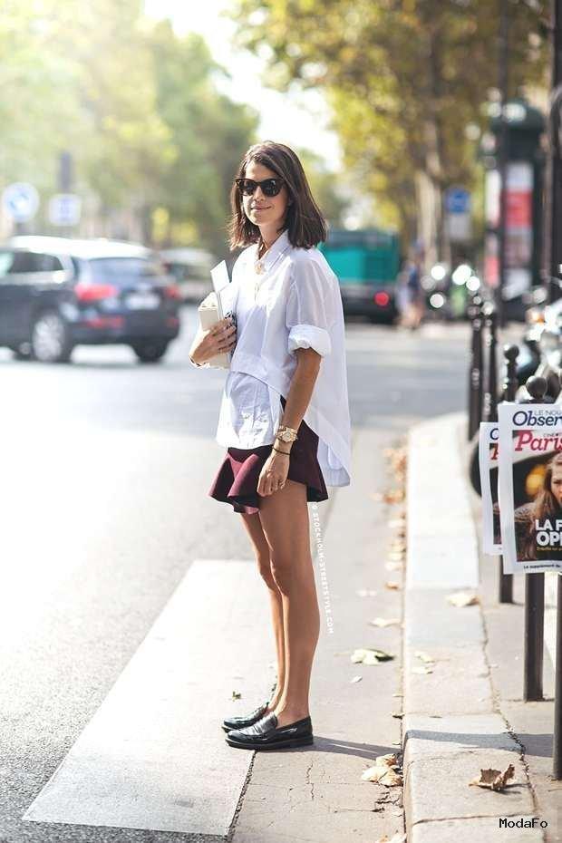 Street Style- How to Wear The Ruffle Mini Skirt – TrendSurvivor