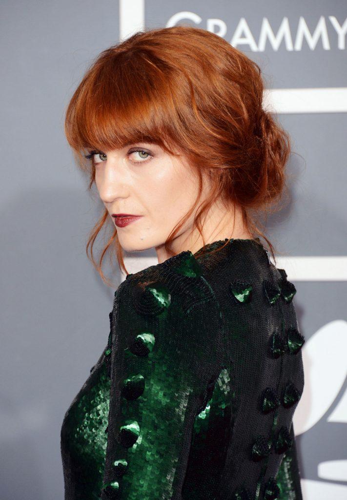 2016 Saç Renkleri florence-welch-copper-cuivre-hair