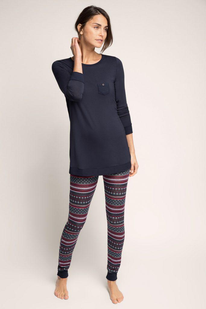 Pyjama en doux jersey stretch 59,99 €