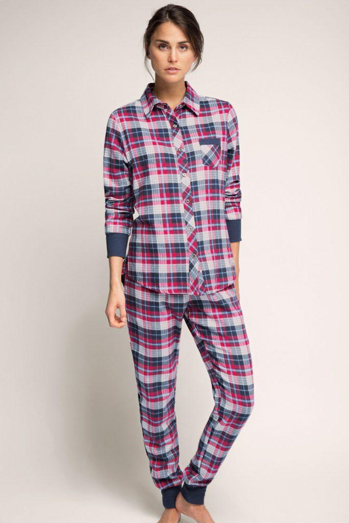 Pyjama en flanelle, 100 100 coton 2 - 49,99 €