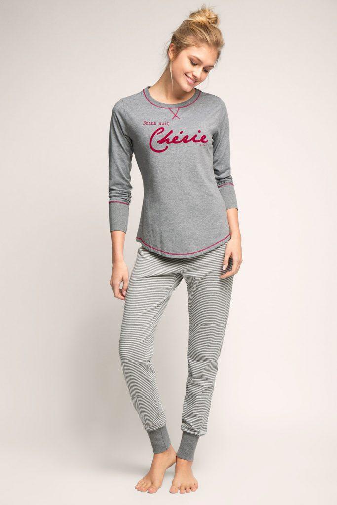 Pyjama en jersey de coton doux mélangé 49,99 €