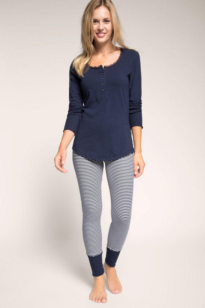 Pyjama en jersey de coton-stretch 49,99 €