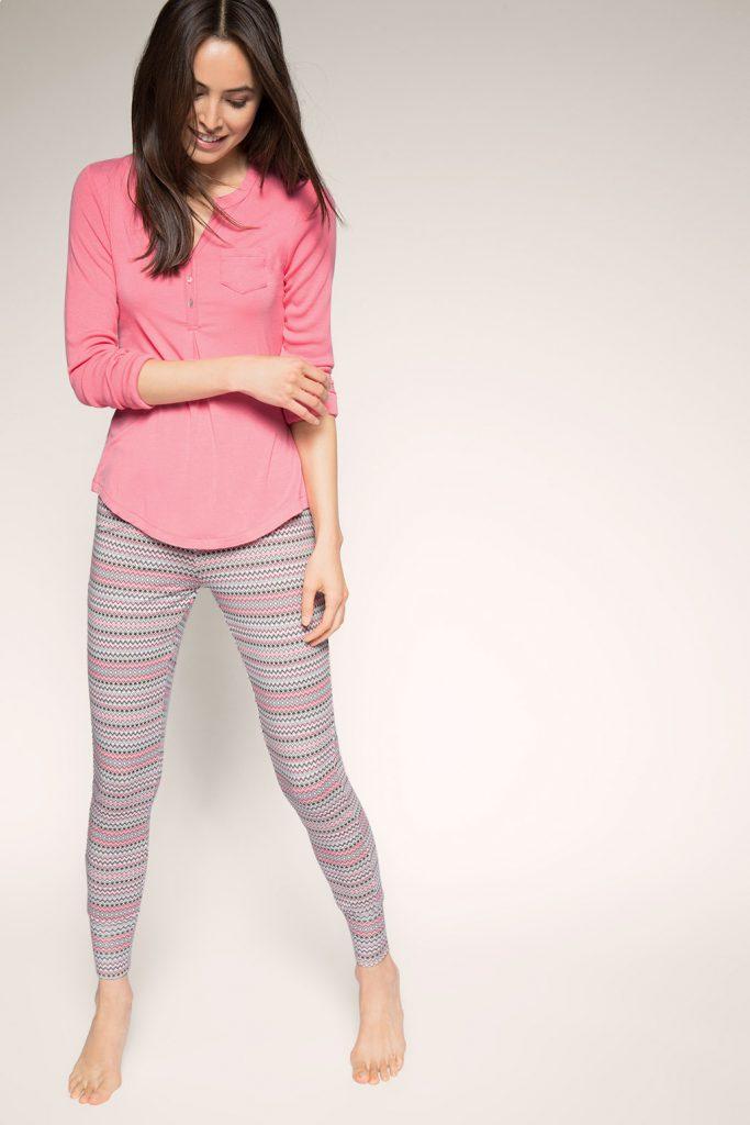 Pyjama en jersey stretch à motif zigzag 39,99 €