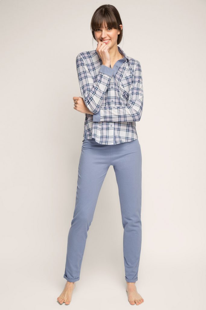 Pyjama en pur coton, matières mélangées 2 - 49,99 €