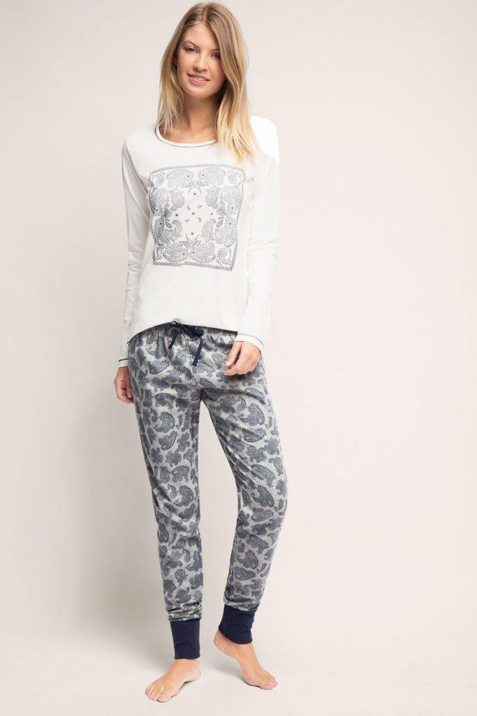Pyjama en pur coton, matières mélangées 3 - 49,99 €