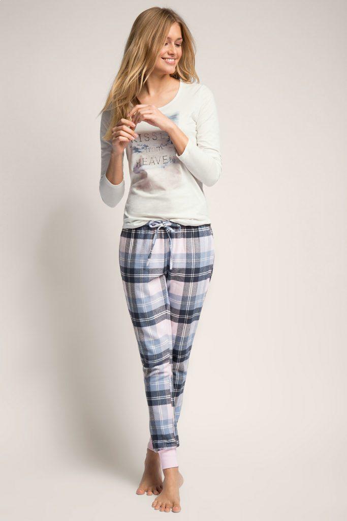 Pyjama en pur coton, matières mélangées 49,99 €