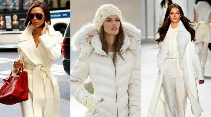 Kış Sezonuna Beyaz Paltolar Damga Vuruyor 4