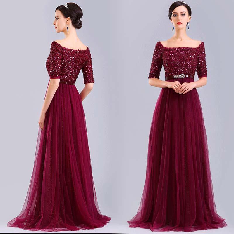 2016 En Şık Nişan Elbiseleri 2016-modest-engagement-dresses-stunning-prom