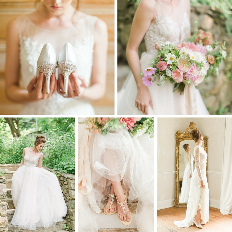2016 Nişan ayakkabısı - Eternal-The-Exquisite-Bridal-Shoes-Collection-for-2016-from-Bella-Belle